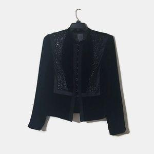 Calvin Klein Size 12 Velvet Professional Blazer